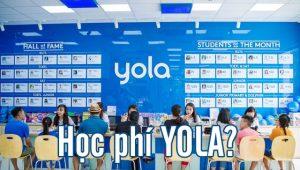 Học Phí YOLA cập nhật ưu đãi & Học bổng